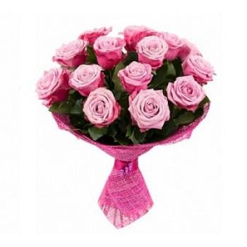 Букет '17 розовых роз'