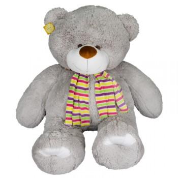 Медведь мягкий серый