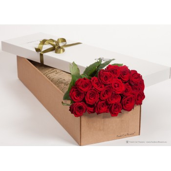Розы в подарочной коробке!